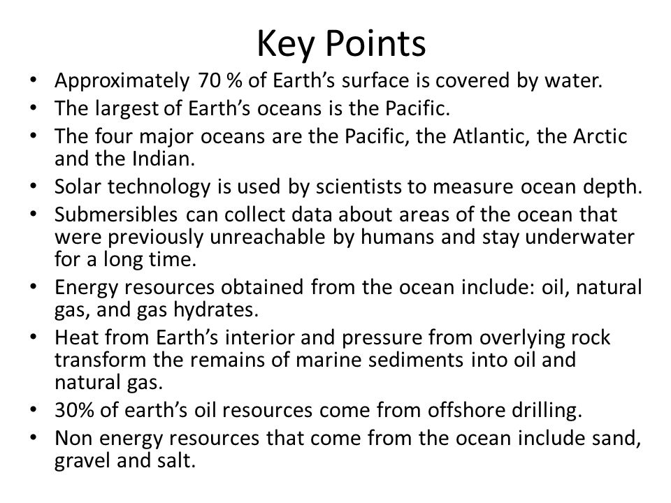 an analysis of the earths surface covered by water and the oceans and is too salty to drink