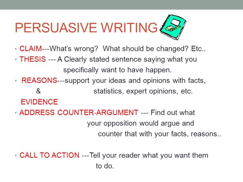 Delicieux Th Grade Persuasive Essay Persuasive Writing Claimwhats Persuasive Writing  Claimwhats Wrong What Should Be Changed Etc
