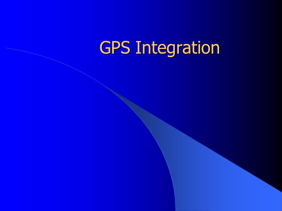 GPS Integration