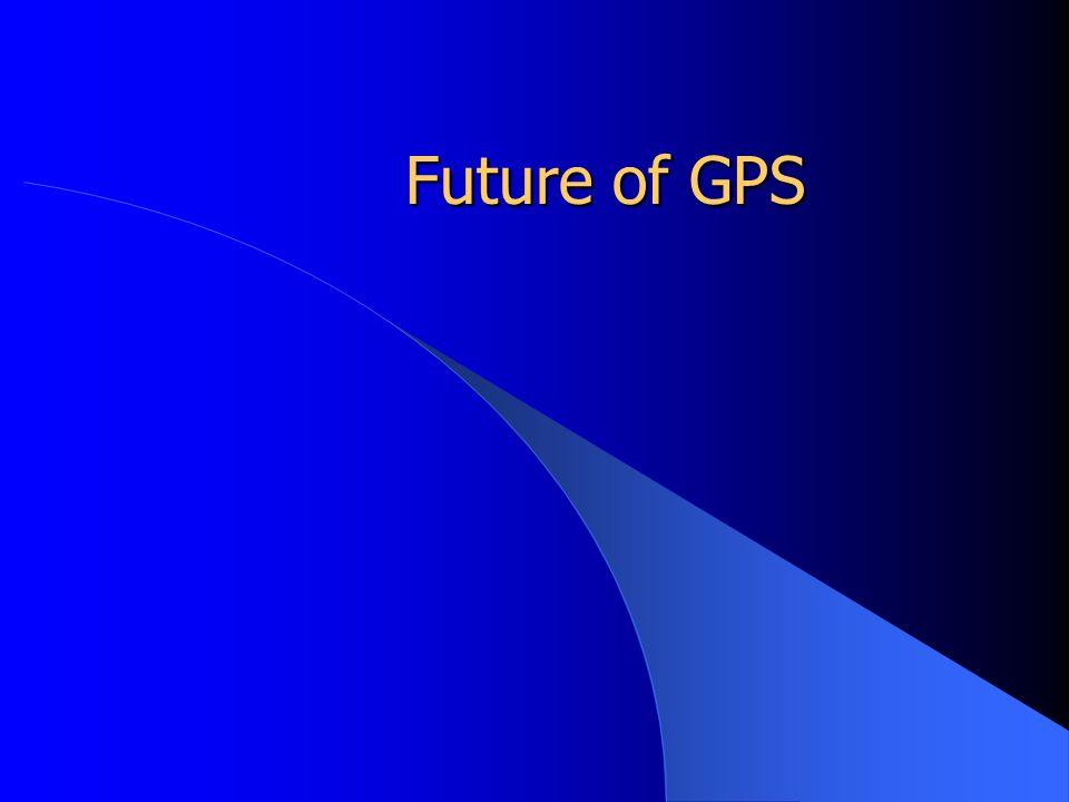 Future of GPS