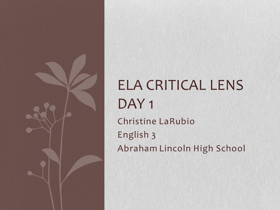 Critical lens essay HAMLET PLS HELP?