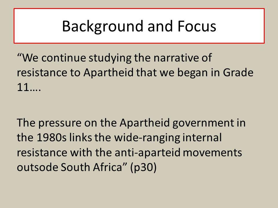 apartheid in literature essay