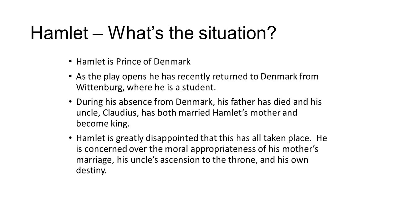 corruption in shakespeares play hamlet