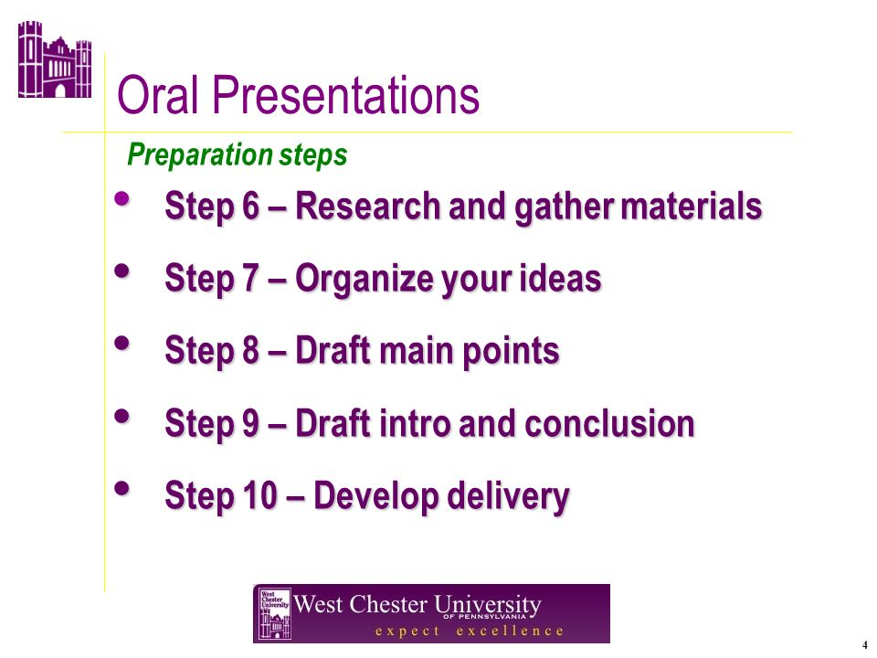 Oral Presentations In Business. 2 Agenda Speech Preparation Steps