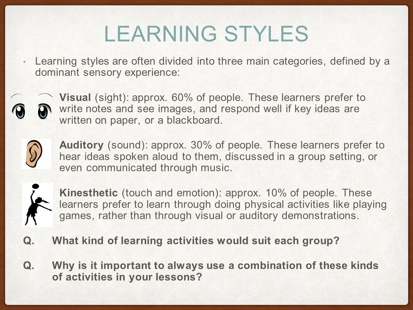 Kinetic learning self directed learning programs samples - 4 Learning