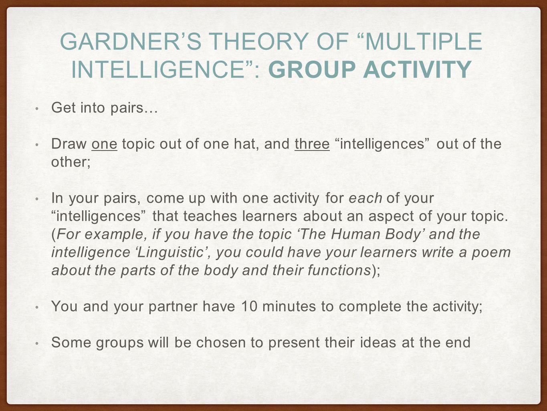 Kinetic learning self directed learning programs samples - 6 Gardner S