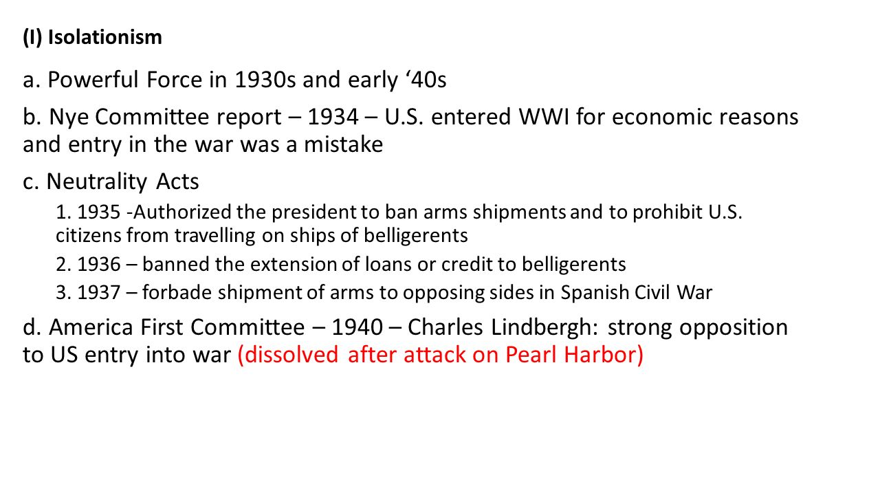 Ain #67: Should the U.S. have entered World War II before the ...