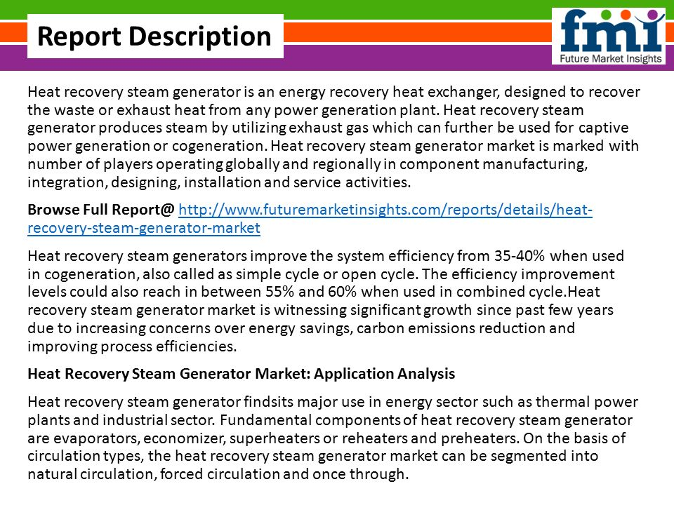 Global Heat Recovery Steam Generator Market Share, Global Trends ...