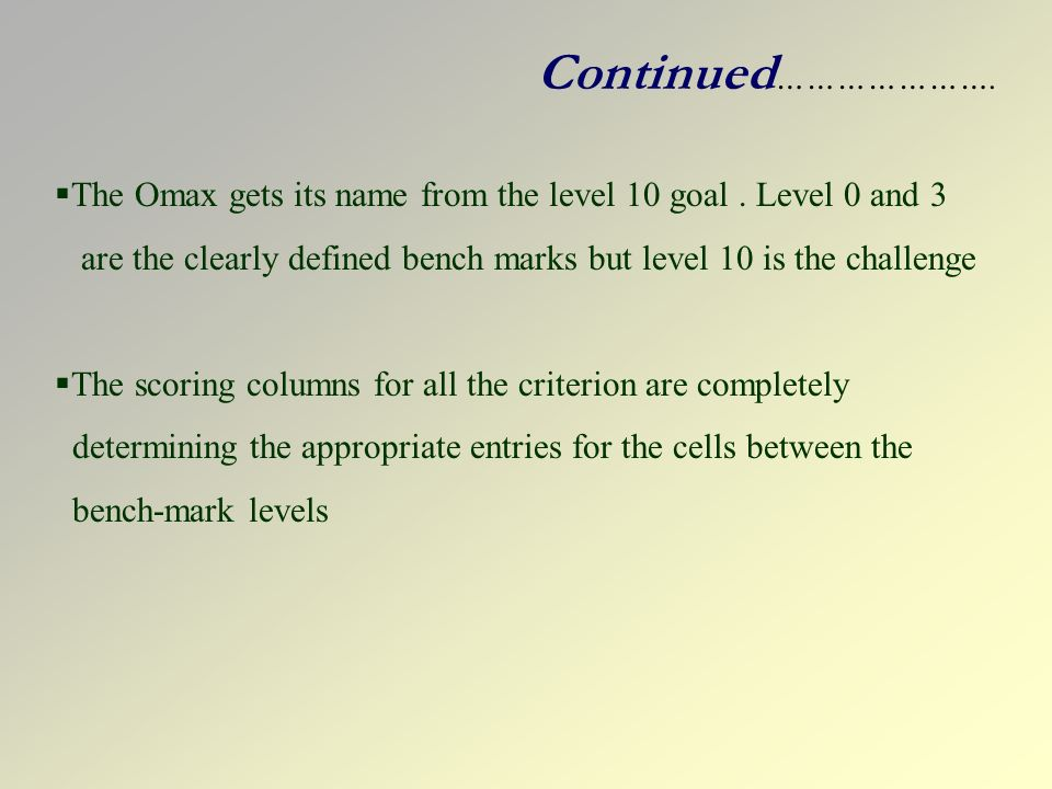the omax gets its name from - Omax 3