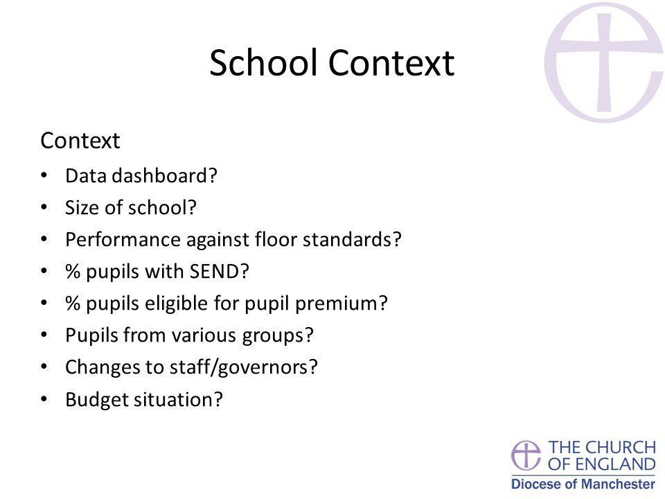 School Context Context Data dashboard.Size of school.
