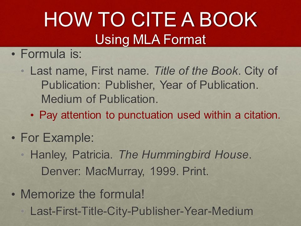 how to cite your sources in mla format Citation machine™ helps students and professionals properly credit the information that they use cite your journal article in modern language association 8th edition format.