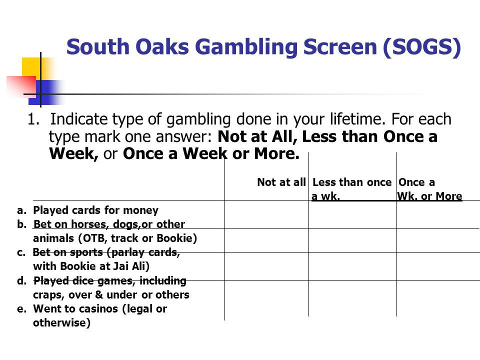 South oaks gambling paypal casino usa online