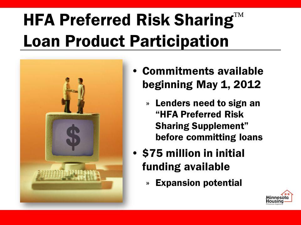 Hfa Preferred Risk Sharing  Ef   Loan