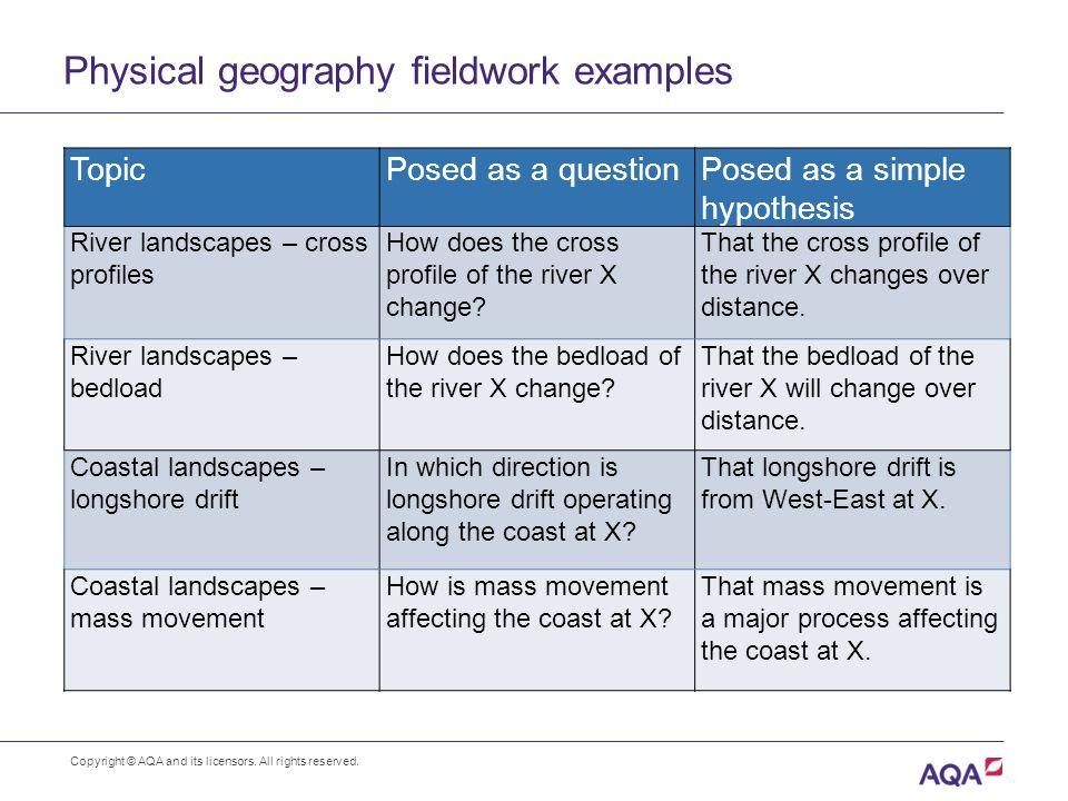 aqa as geography fieldwork ashes hollow essay