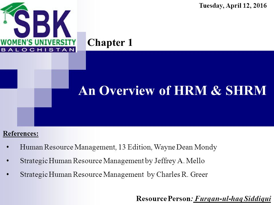 an overview of strategic management Start studying hurm exam 1 strategic management is best which of the following is a strategic planning tool that offers an overview of how each.