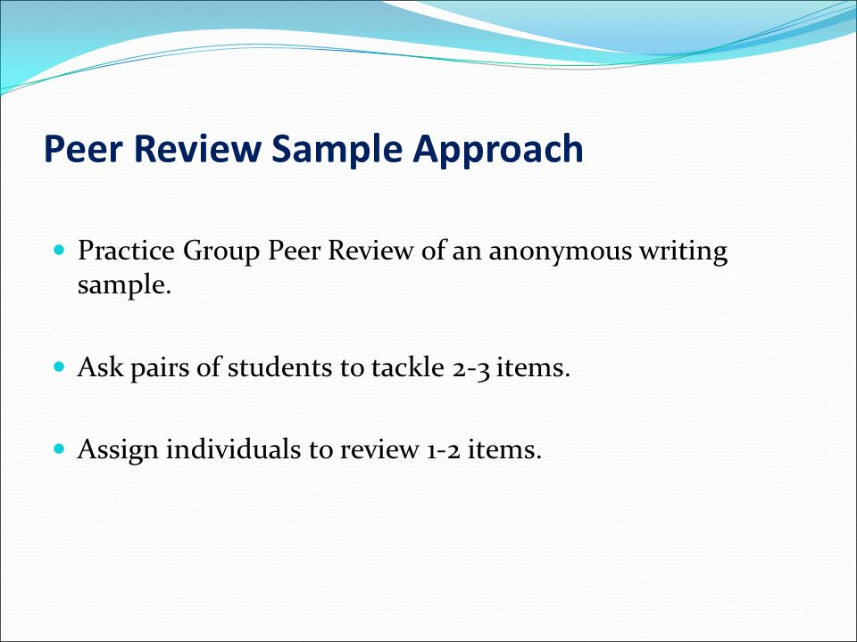peer review literature The scientific literature page 1 the scientific literature in psychology as we saw in the reading on science and the scientific method, falsifiability and replication are.
