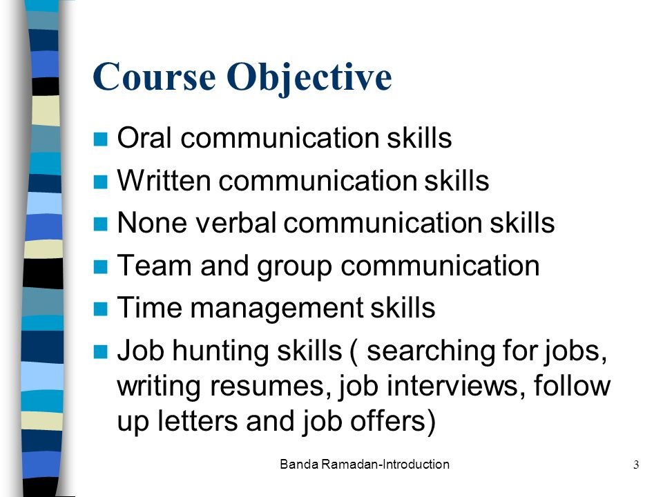 report writiing oral communication skills