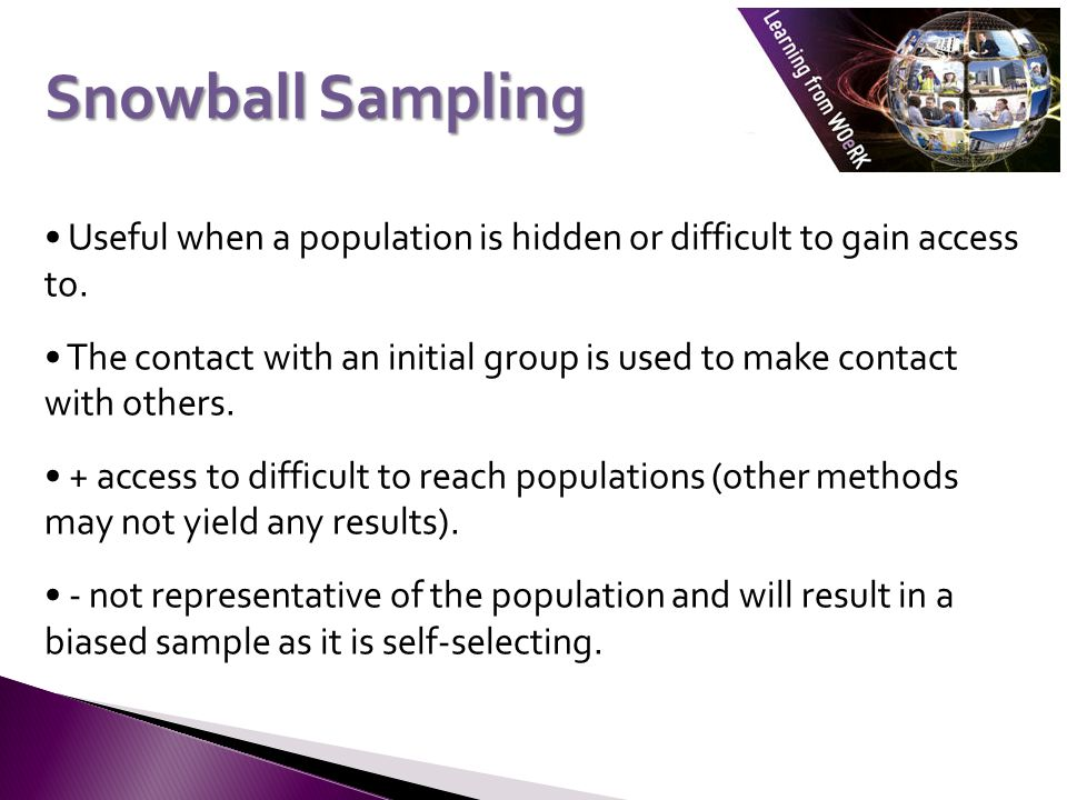 Numeracy & Quantitative Methods Laura Lake. Probability sample – a ...