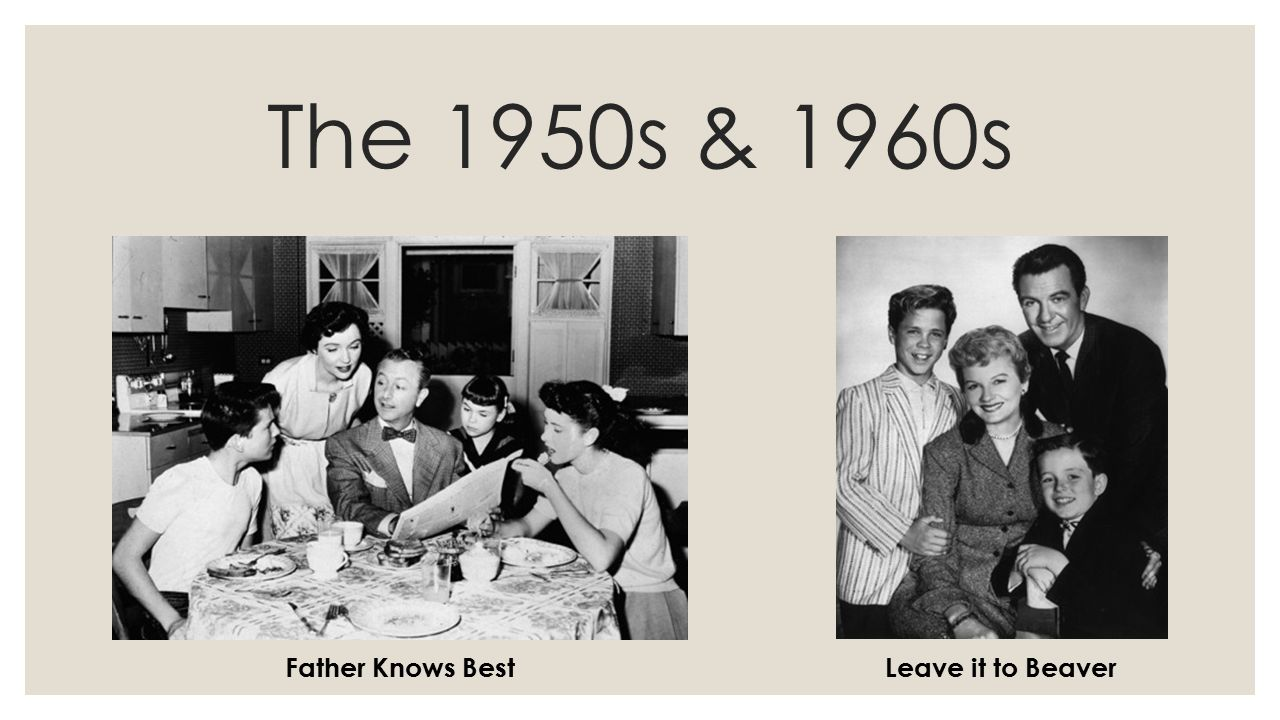 life 1950 s compared today