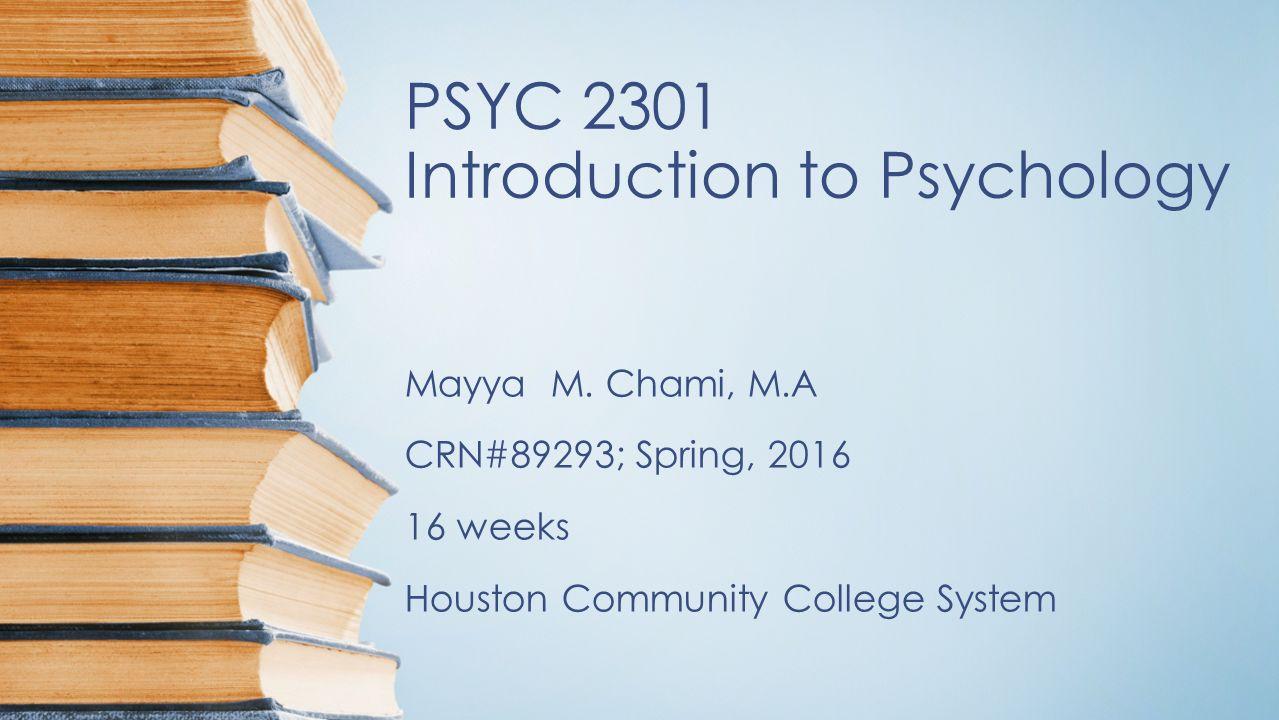 psyc 2301 3