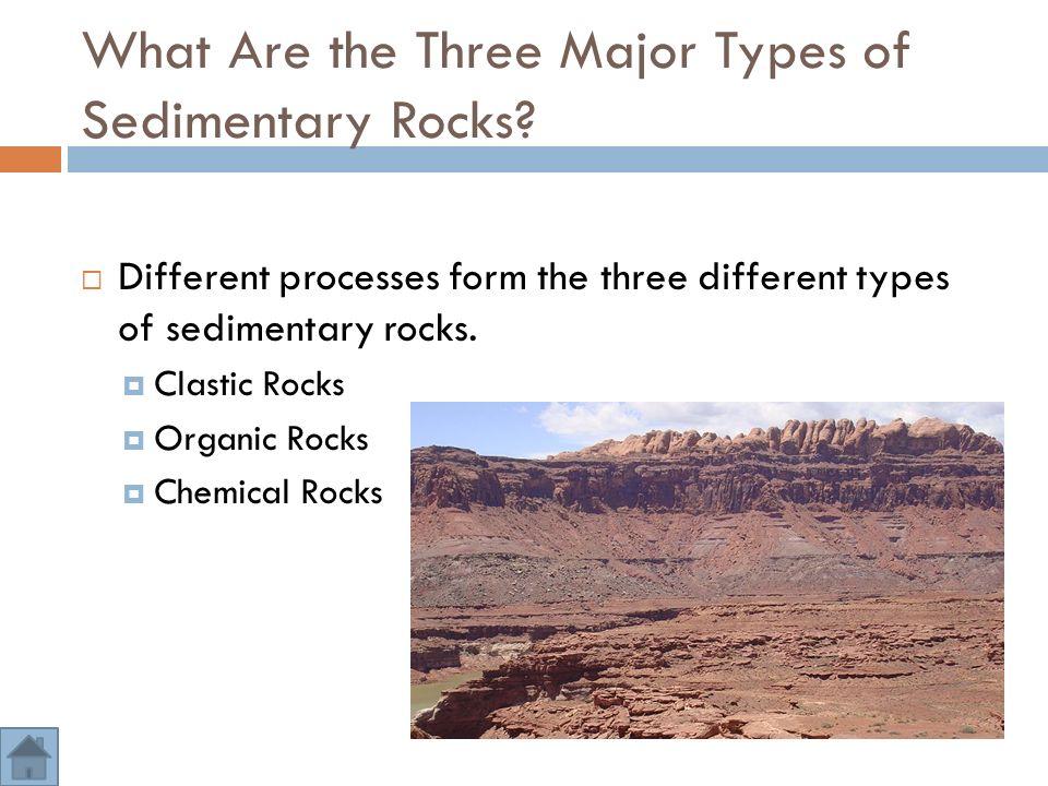 3.5 – Sedimentary Rocks  Essential Questions: 1. How Do ...
