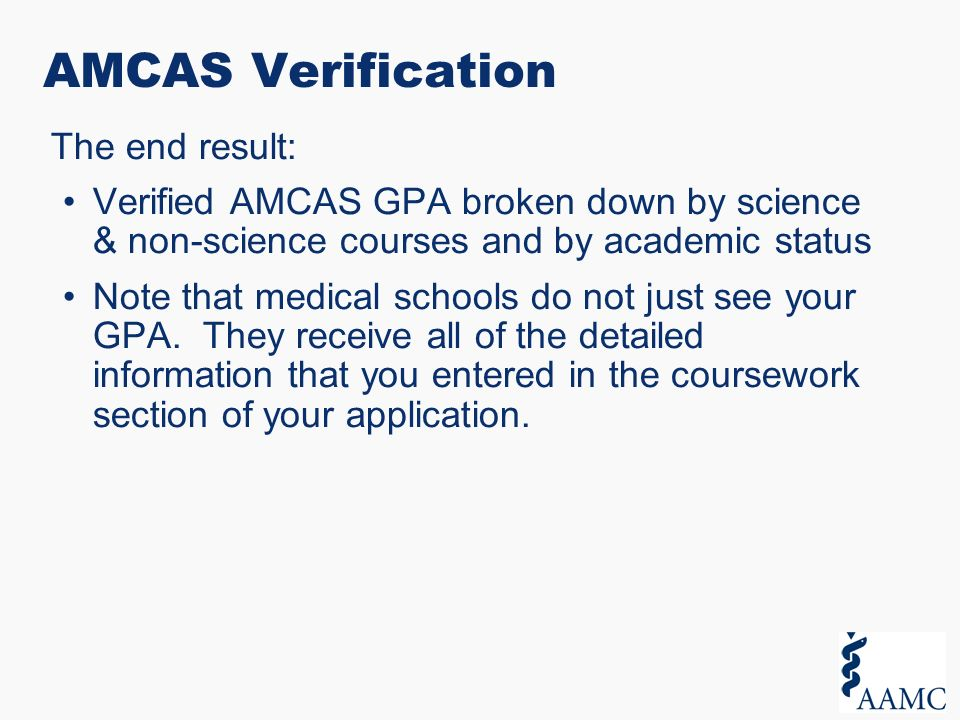 amcas coursework video Amcas performs verification of coursework and calculates find the amcas video tutorials and other helpful resources while completing the application on the.