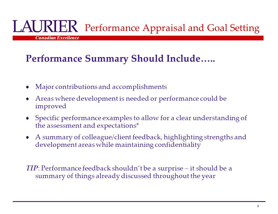 conducting performance appraisals For most managers conducting performance appraisals, employees are given a combination of both positive and negative feedback but if the performance appraisal isn't done in the right manner, the.