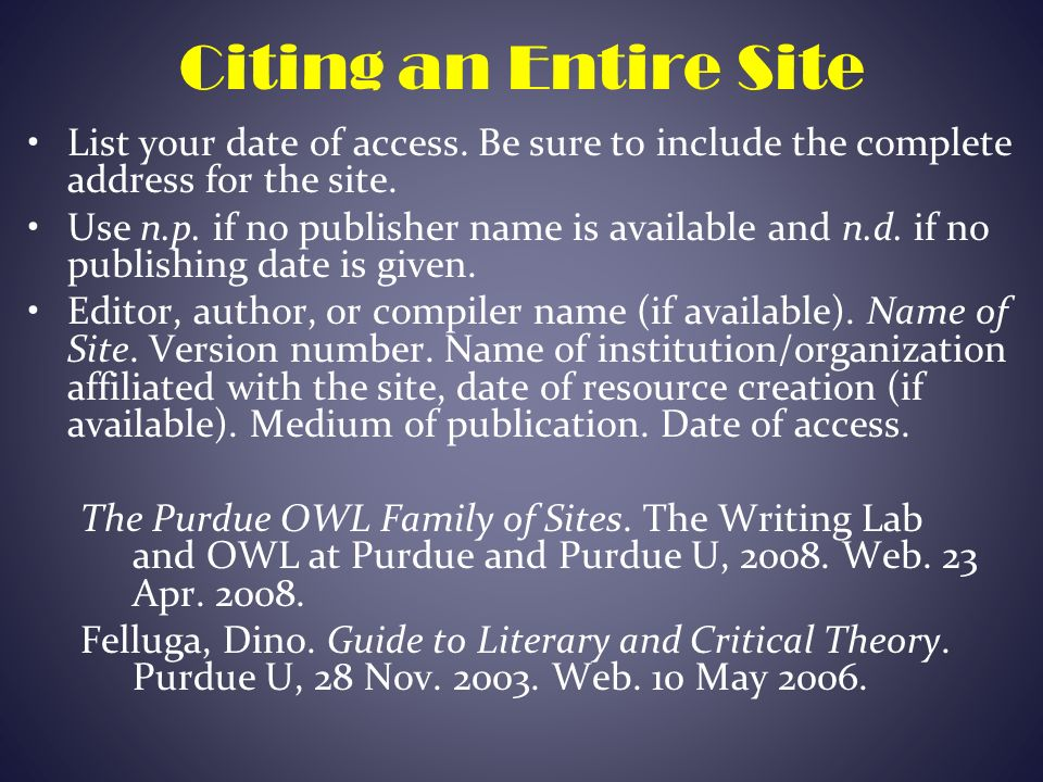 mla citations for critical essays