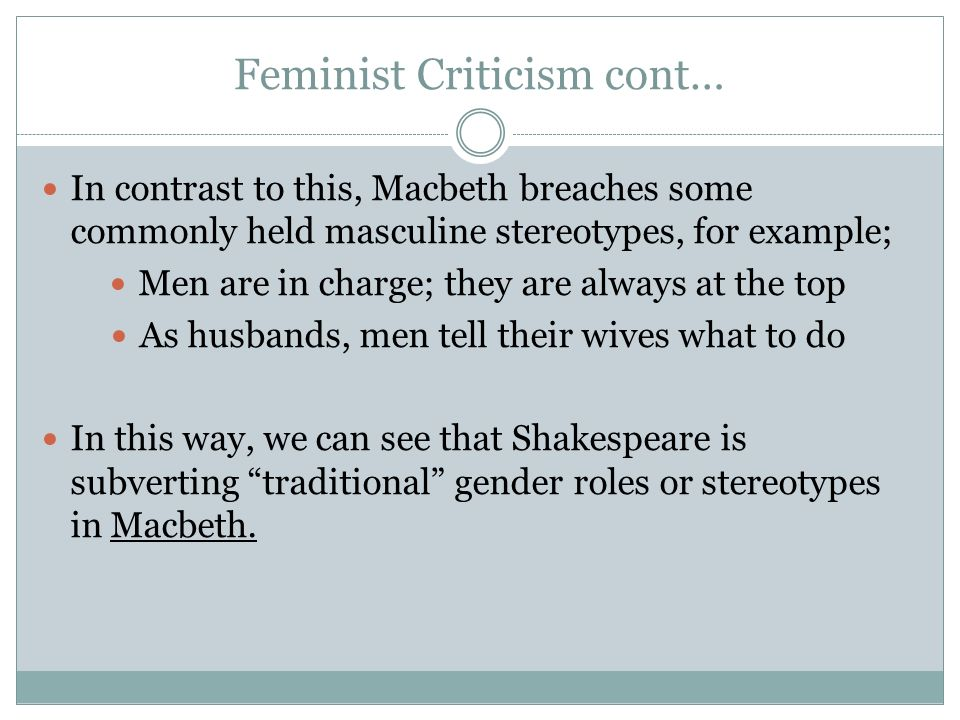 feminist criticism essays Writing sample of essay on a given topic feminist criticism.