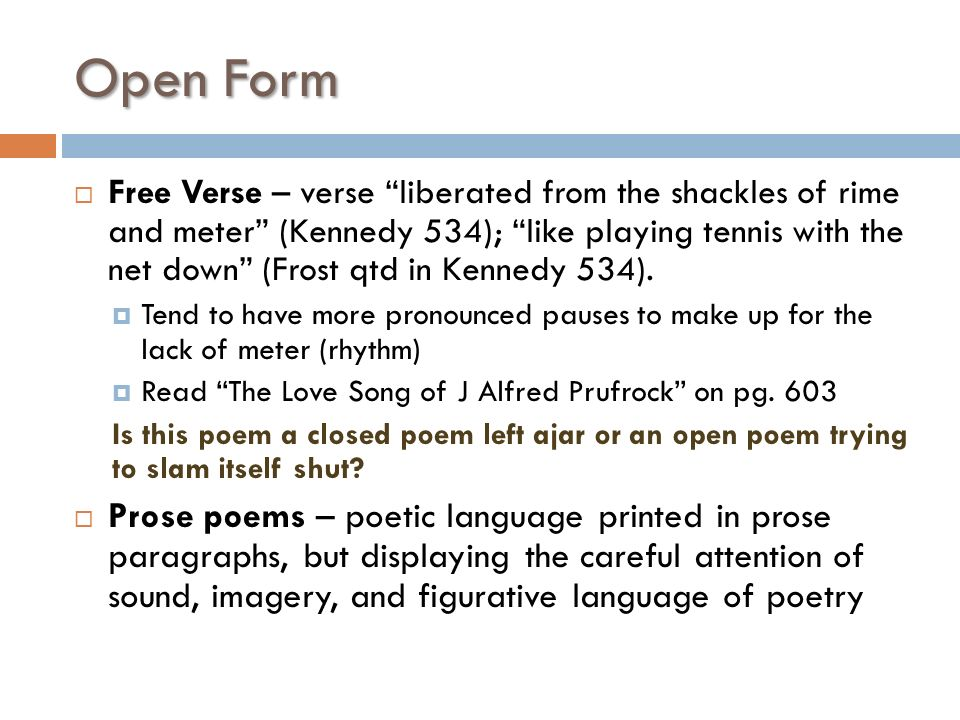 POETRY 101 De Guire. Quote Do not worry about what a poem is or ...