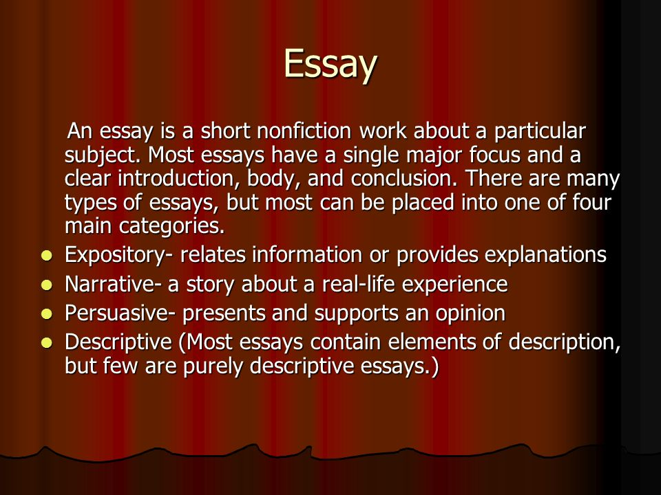 reflective essay on a life changing experience Life changing experience reflective essay world and other essays on poverty how to plan a reflective essay kambalda village essays essay directions for.