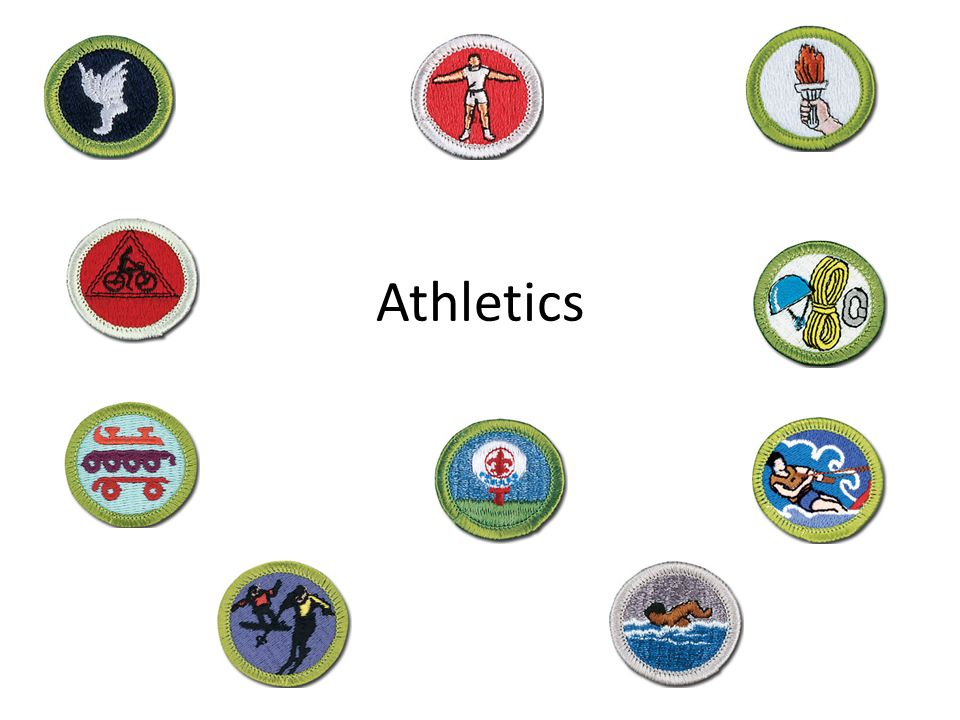 Athletics New Scout Patrol All physical fitness requirements – Sports Merit Badge Worksheet