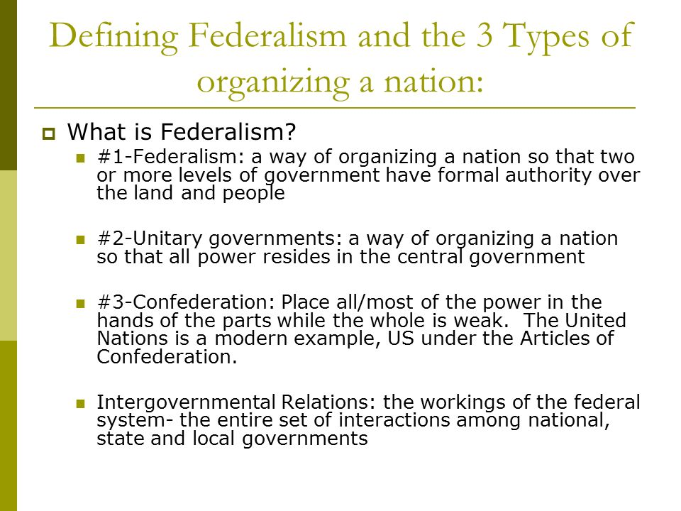 defining federalism Definition of federalism - the federal principle or system of government.