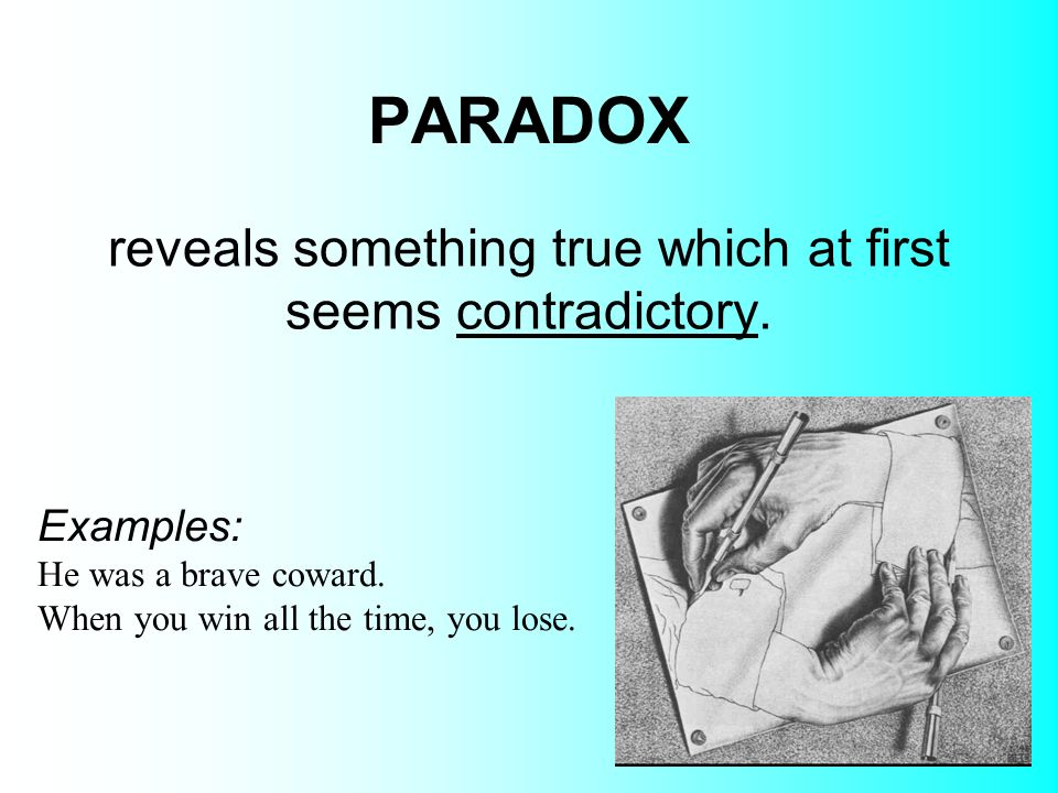 Example Of Paradox In Literature Gallery Example Cover Letter For