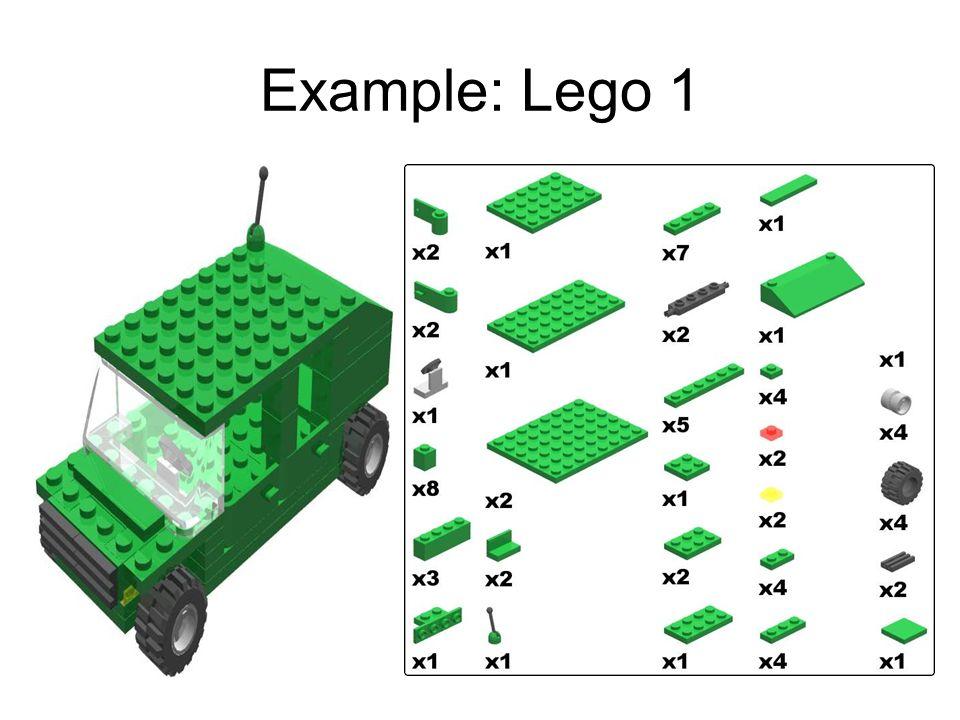 Example: Lego 1