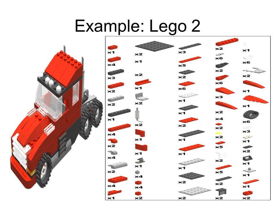 Example: Lego 2