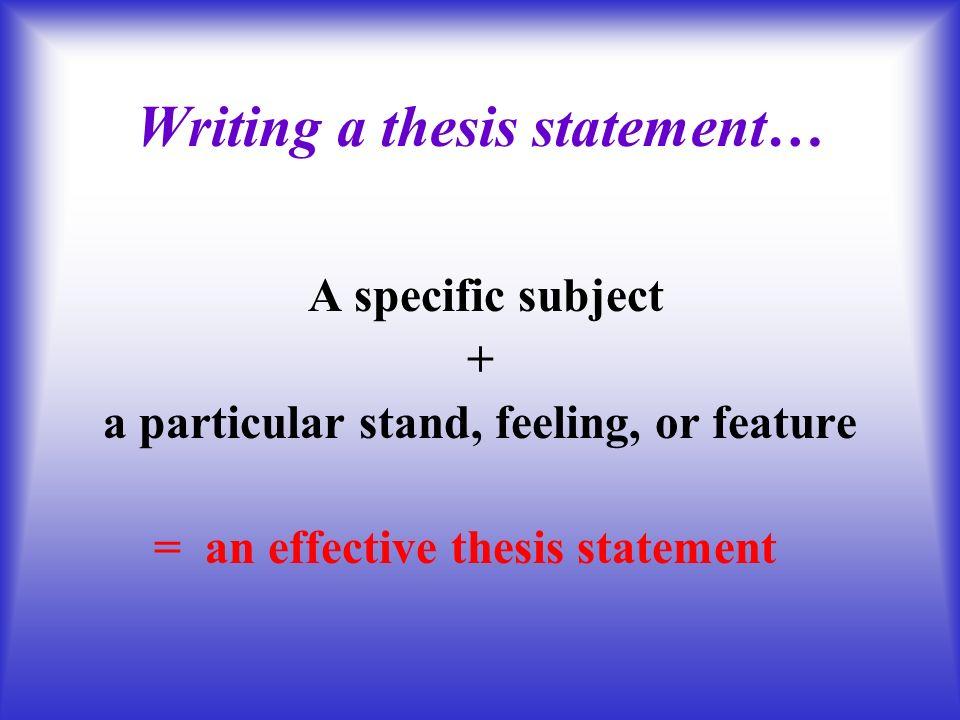 Beginning A Research Paper