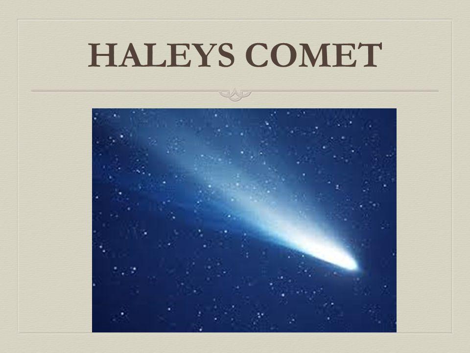 HALEYS COMET