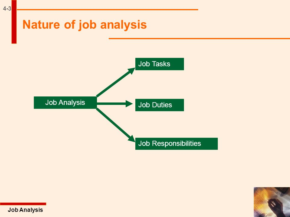 Job Analysis Excel Books Chapter. Annotated Outline 4-2