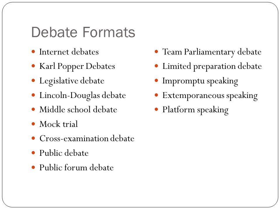 Successful Arguments Debate Teams. What are debate teams? Two ...