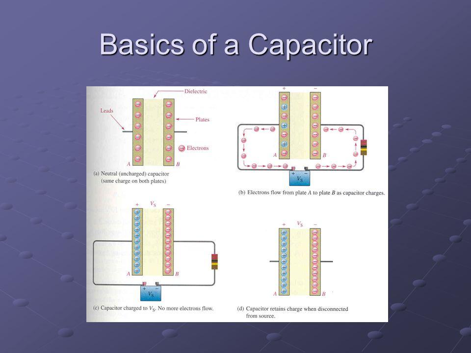 Basics of a Capacitor