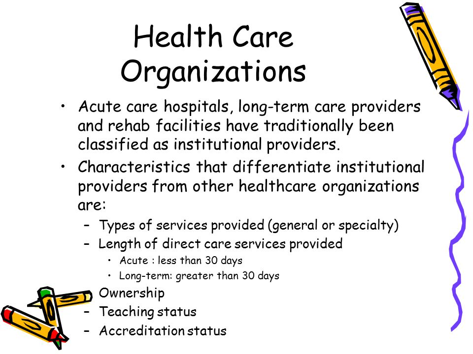 health care organizations Chapter 1: health, healthcare, and healthcare organizations 3 the force field model of health four forces—heredity, medical services, environment, and lifestyle—simultaneously.