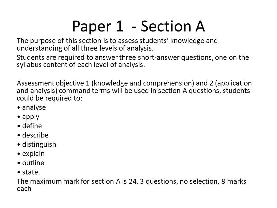 psychology paper 1