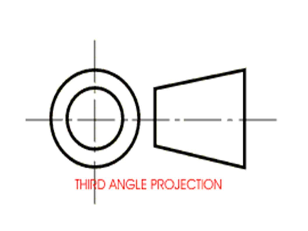 Third angle orthographic projection ppt video online download 13 biocorpaavc Gallery