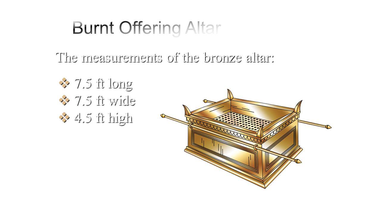34  Great Bronze Altar Of Burnt for Bronze Altar Of Burnt Offering  45gtk