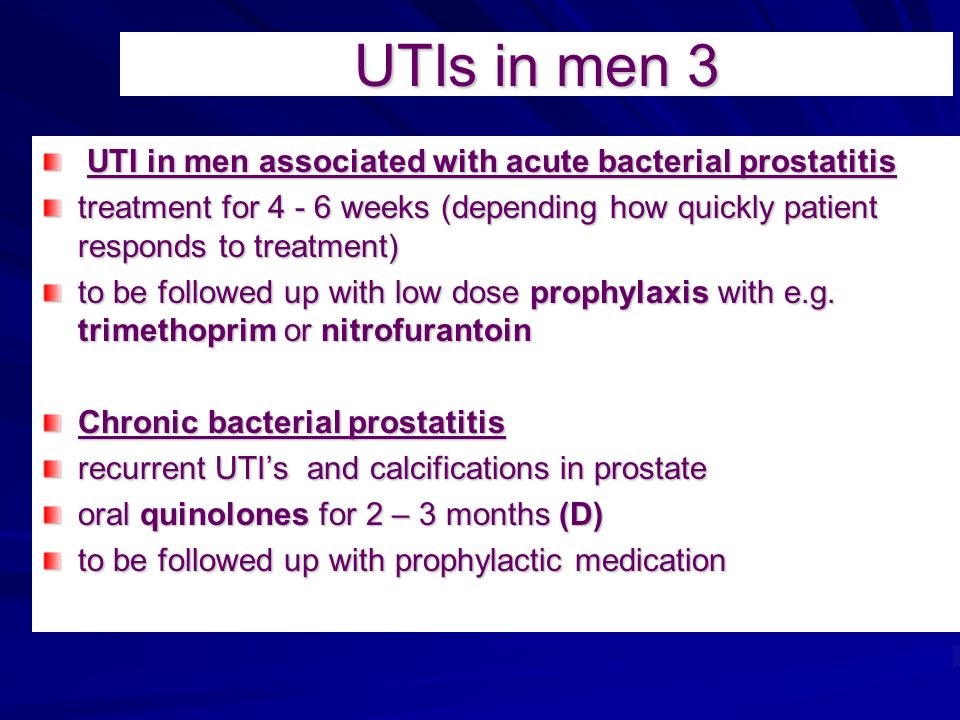 chronic urinary tract infections treatment case nursing essay Or urinary tract infection more than one-third of all infections in people in nursing homes are utis which is a chronic infection of the prostate.