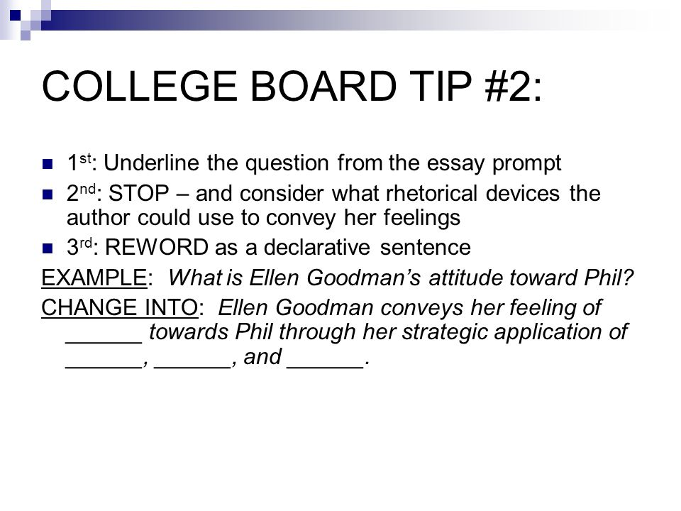 college board ap language and composition essay prompts