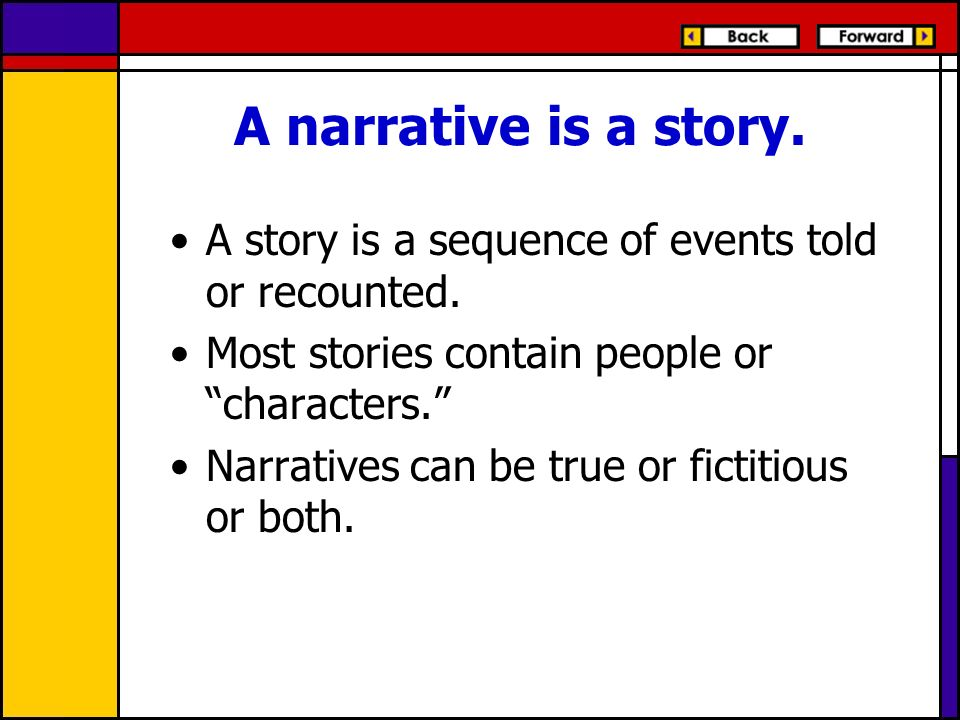 Narrative Essay Form