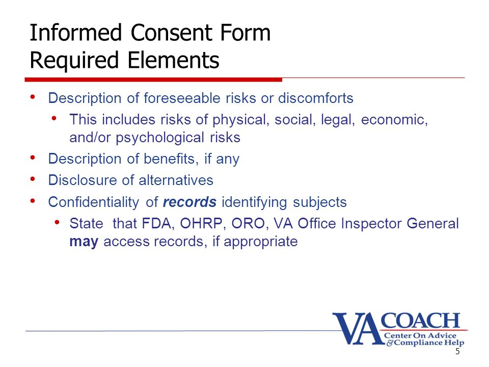 Informed Consent Presented by Marian Serge, RN. Goals Informed ...