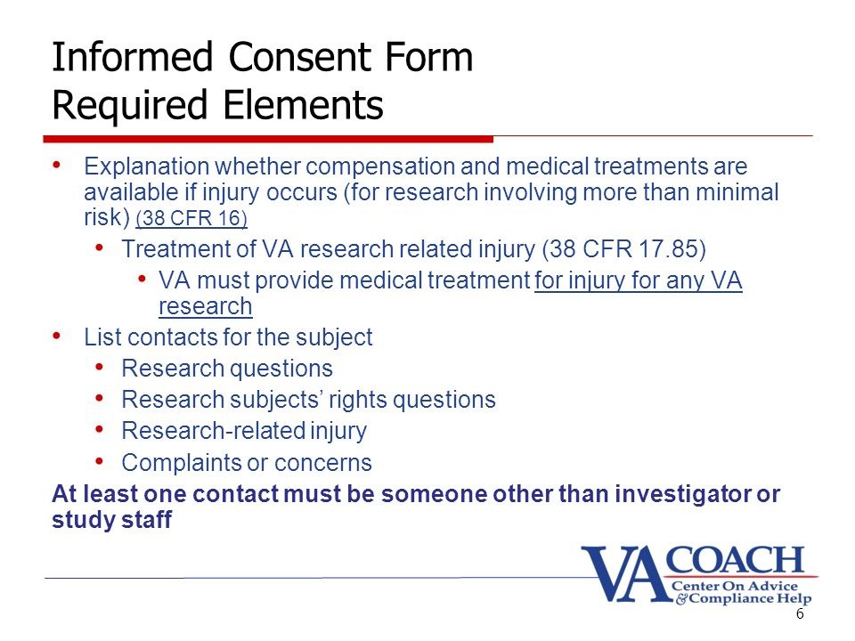 Informed Consent Presented By Marian Serge, Rn. Goals Informed